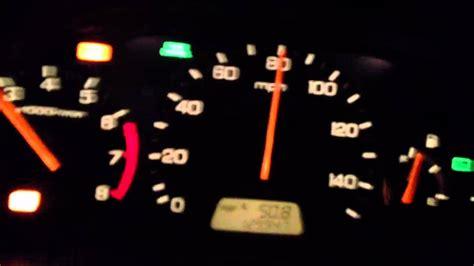 2001 Honda Accord V6 Check Engine Light Youtube