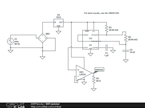 wifi jammer circuitlab