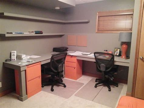 basement office after home ideas
