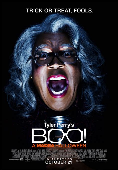 movies today tyler perrys boo 2 a madea halloween by tyler perry tyler perry s boo a madea halloween cast and actor