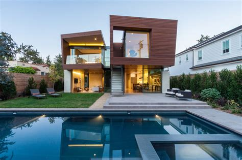 california contemporary homes michael kovac designs a new house in santa monica