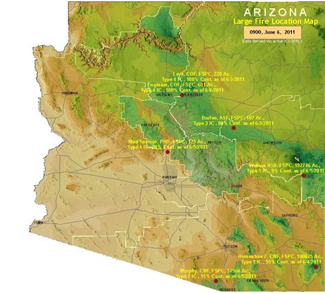 arizona large location map nature in the news