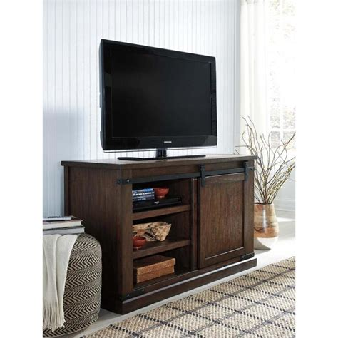 ashley furniture budmore medium tv stand