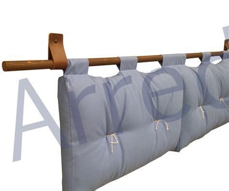 letto loto testata letto loto cotone h 45cm moeco 2 cuscini