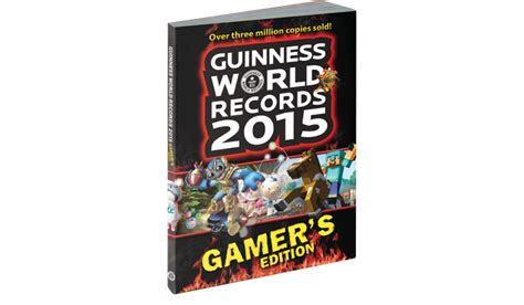 guinness world records 2015 guinness world records 2015 gamer s edition minecraft marathon and other new records revealed
