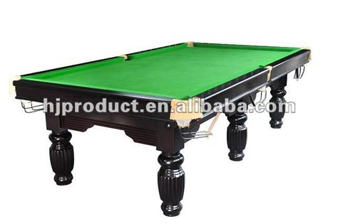 Manufacture Different Size Professional Usa Snooker Pool Professional Pool Table Size