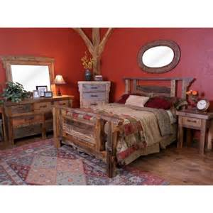 wyoming reclaimed wood bedroom set