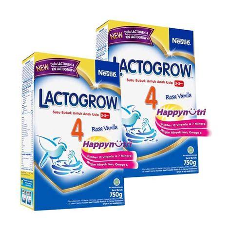 Lactogrow 4 Vanila 750g jual buy 2 nestle lactogrow 4 vanila fomula 750 g