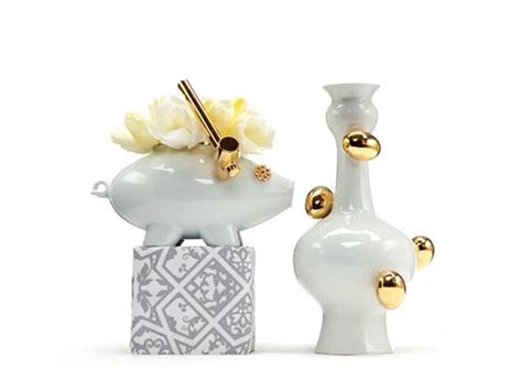 Moooi Vase by Ceramic Vase The Killing Of The Piggy Bank By Moooi