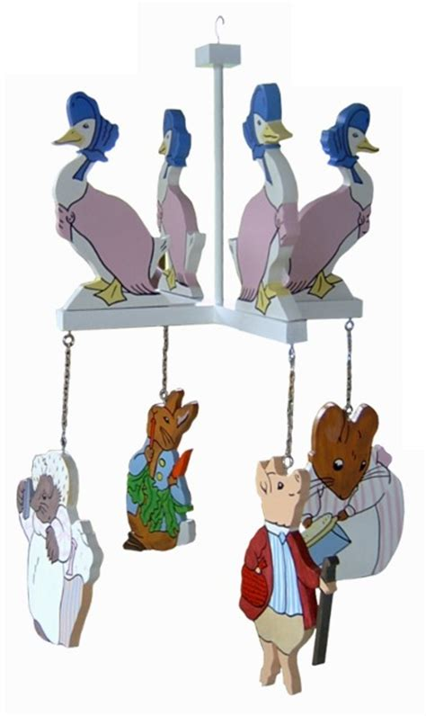 beatrix potter mobile mobiles wooden beatrix potter mobile was sold for r280