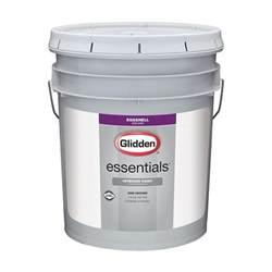 glidden essentials 5 gal eggshell interior paint
