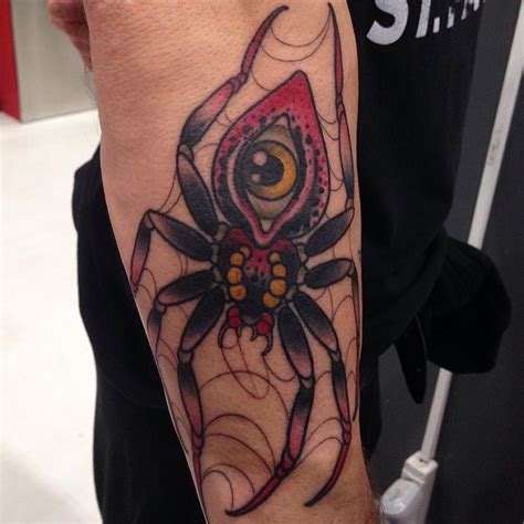 traditional spider tattoo traditional spider design ideas 2018