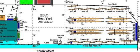 warehouse yard layout biac rebuilding boatyard