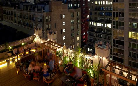 top roof bars in nyc best rooftop bars in nyc travel leisure