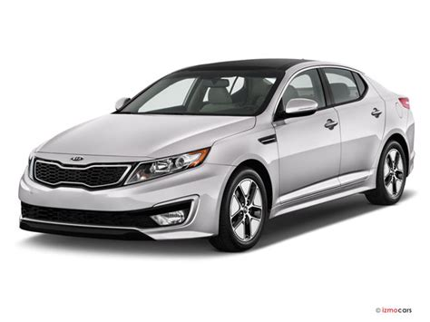 2012 Kia Optima Safety Rating 2012 Kia Optima Hybrid Pictures Angular Front U S News