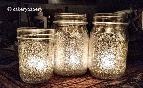 diy decorations candle jars festive diy glitter jar candles jar