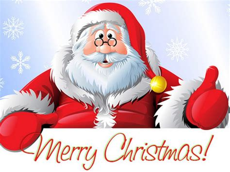 santa claus merry christmas greeting card   year  wallpaperscom
