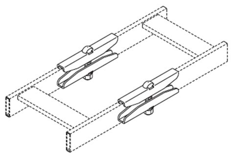 Chatsworth Ladder Rack by 16301 001 Chatsworth Products Inc Cpi Splice Kit