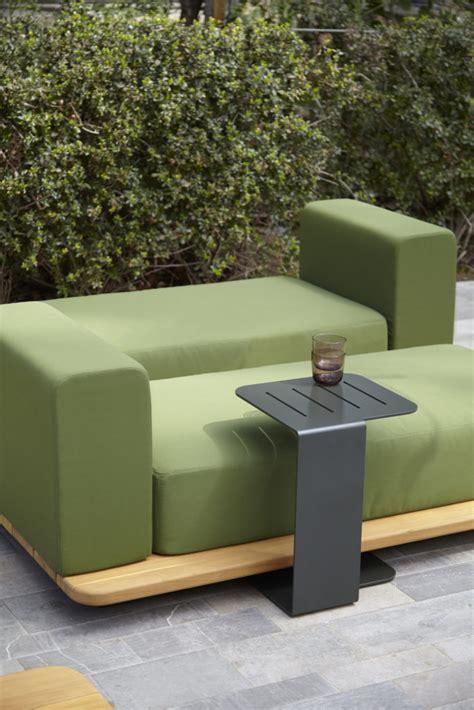 modular chaise palo modern teak modular chaise lounger couture outdoor
