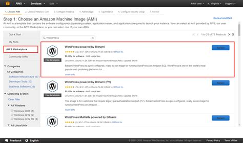 amazon web hosting how to build and launch a wordpress site aws
