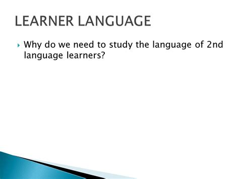 Why Do We Need To Study Language Essay by Language Acquisition Week Ppt