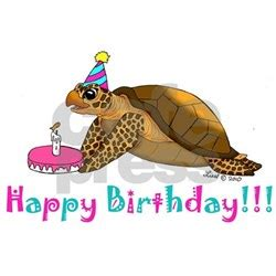 Happy Birthday Turtle Card Sea Turtle Birthday Greeting Cards Card Ideas Sayings