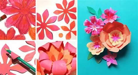 How To Make A Headband Out Of Paper - how to make a paper flower crown for cinco de mayo