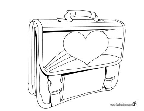 coloring page school bag school bag for girls coloring pages hellokids com