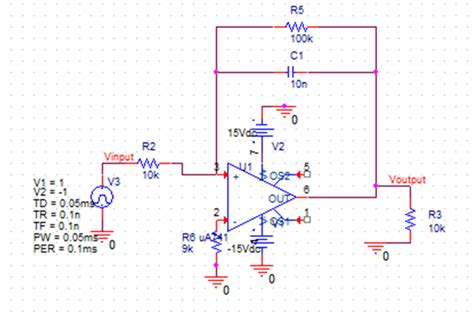 integrator circuit diode integrator get triangular wave on pspice electrical engineering stack exchange