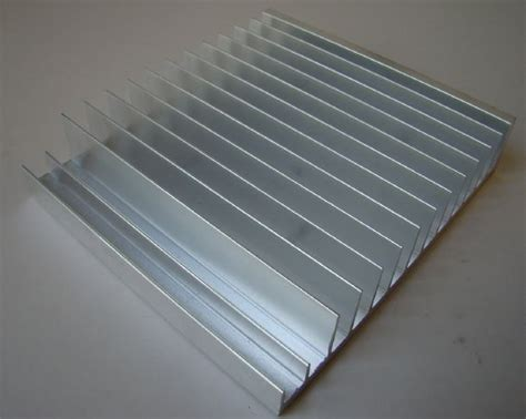 heat sink calculations aluminum extruded heatsink