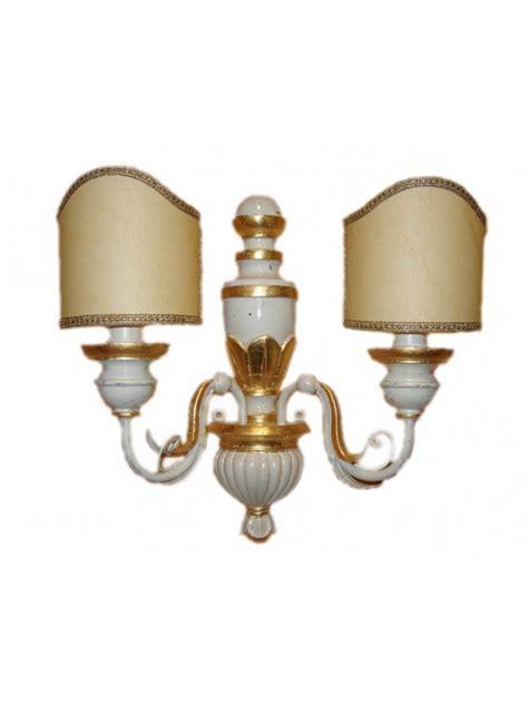 applique foglia oro applique classico in legno foglia oro 2