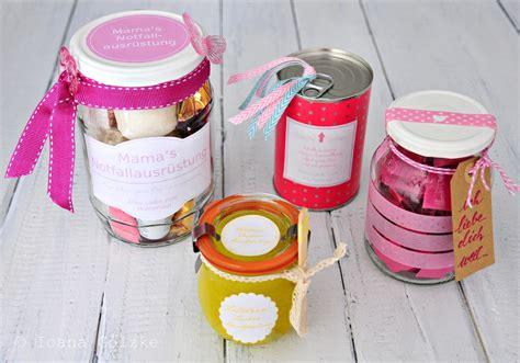 Geschenke Zum Muttertag by 4 Geschenke Zum Muttertag Im Glas Und In Der Dose Inkl