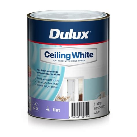 Ceiling Paint White by Dulux 1l Ceiling White Paint Bunnings Warehouse
