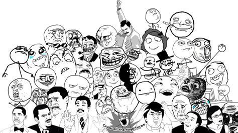 Meme Comic Characters - rage comics