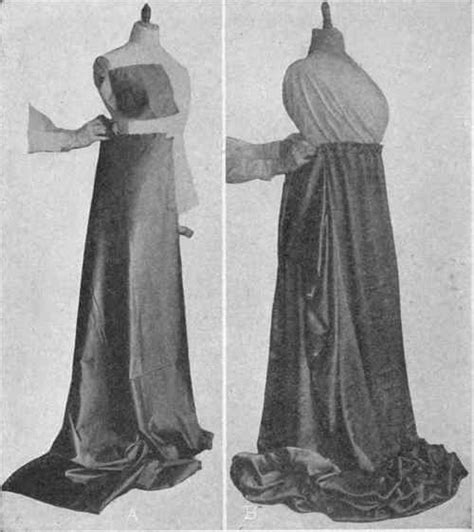 history of draping designing collars and cuffs