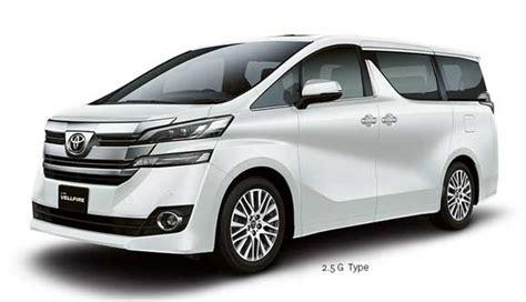Toyota Vellfire Indonesia Harga All New Vellfire Terbaru 2016 Indonesia Terupdate