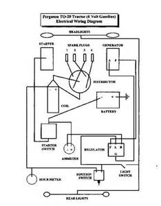 ferguson tractors electrical wiring