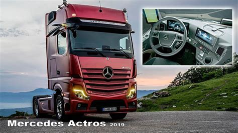 Mercedes Truck 2019 by Mercedes Actros 2019 Interior And Exterior The Trucks