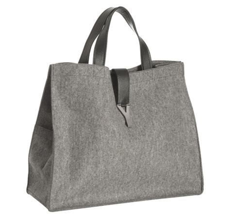 Yves Laurents Uptown Tote Is A Suitable Sequel To The Downtown by Yves Laurent Uk Look Bag