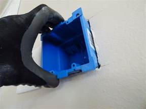 add a switch or outlet box without removing wallboard