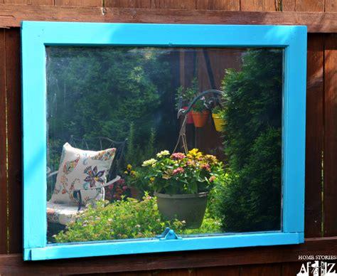 outdoor mirror home stories