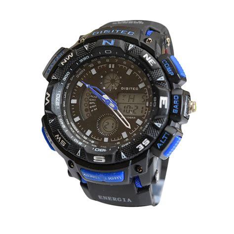 Sale Jam Tangan Digitec Pria Sporty Krs1698 Black jual jam original digitec digitec jam tangan pria sporty