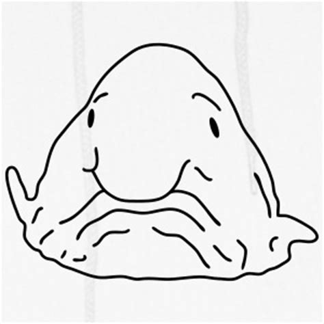 blob fish coloring page blob hoodies sweatshirts spreadshirt