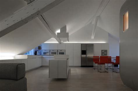 design milk loft airstream inspired living kempart loft aluminum pod