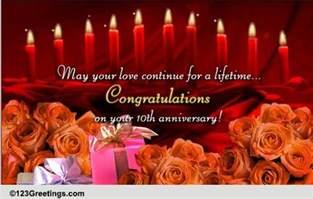 happy 10th anniversary free milestones ecards greeting cards 123 greetings