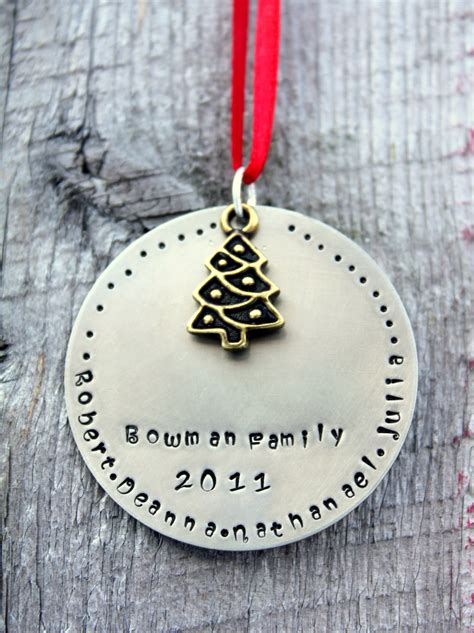 personalized family ornament personalized ornament family