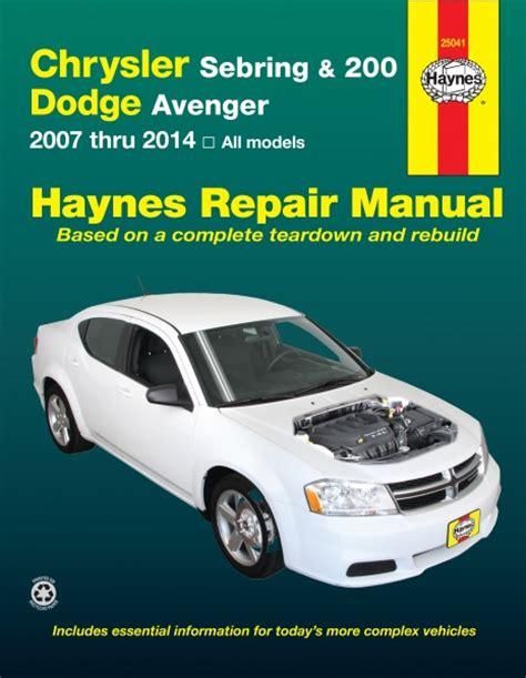 1996 dodge avenger saturn car repair manual dodge caravan grand caravan 2001 2002 2003 2004