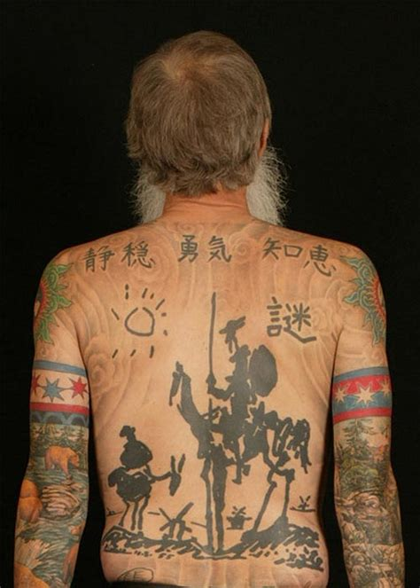 don quixote tattoo all for don quixote