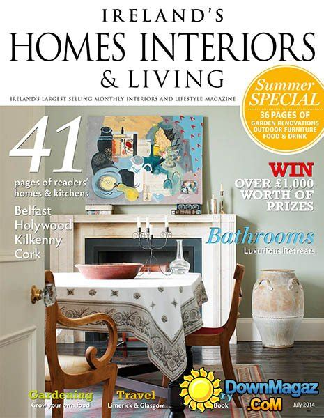 home interior design magazine pdf download ireland s homes interiors living july 2014 187 download