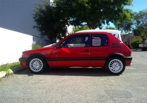peugeot gti 1980 for sale peugeot 205 gti with t16 engine only one in